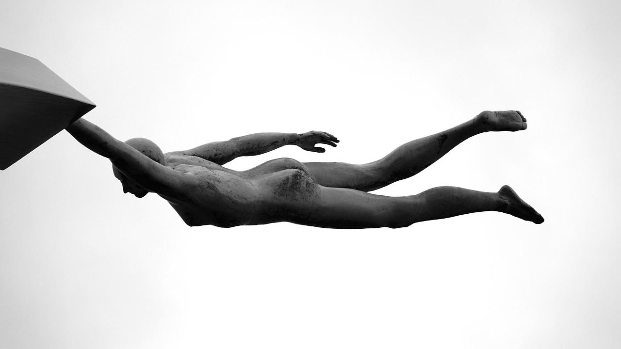 art, perspective, statue