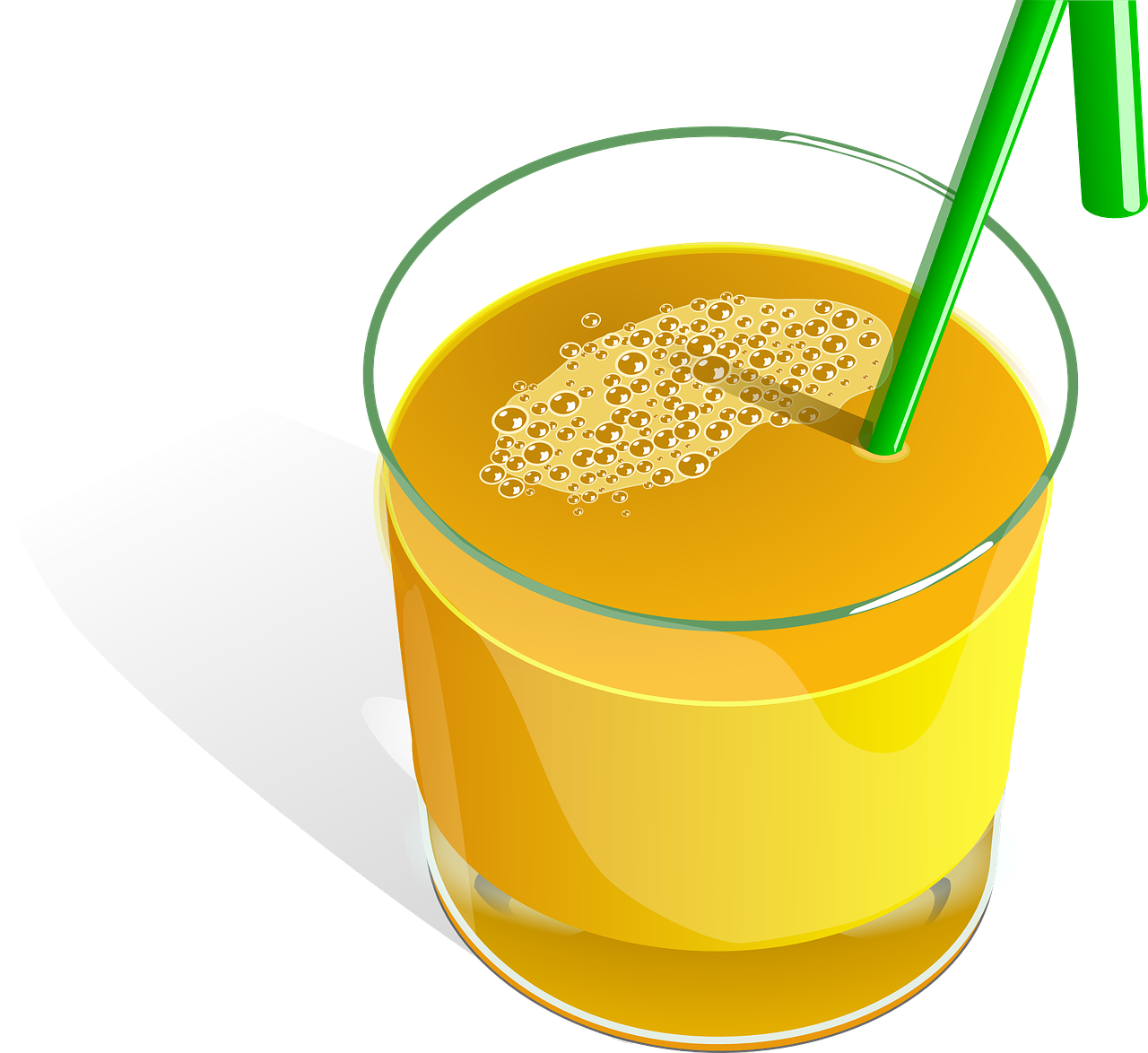 juice, orange, fruits