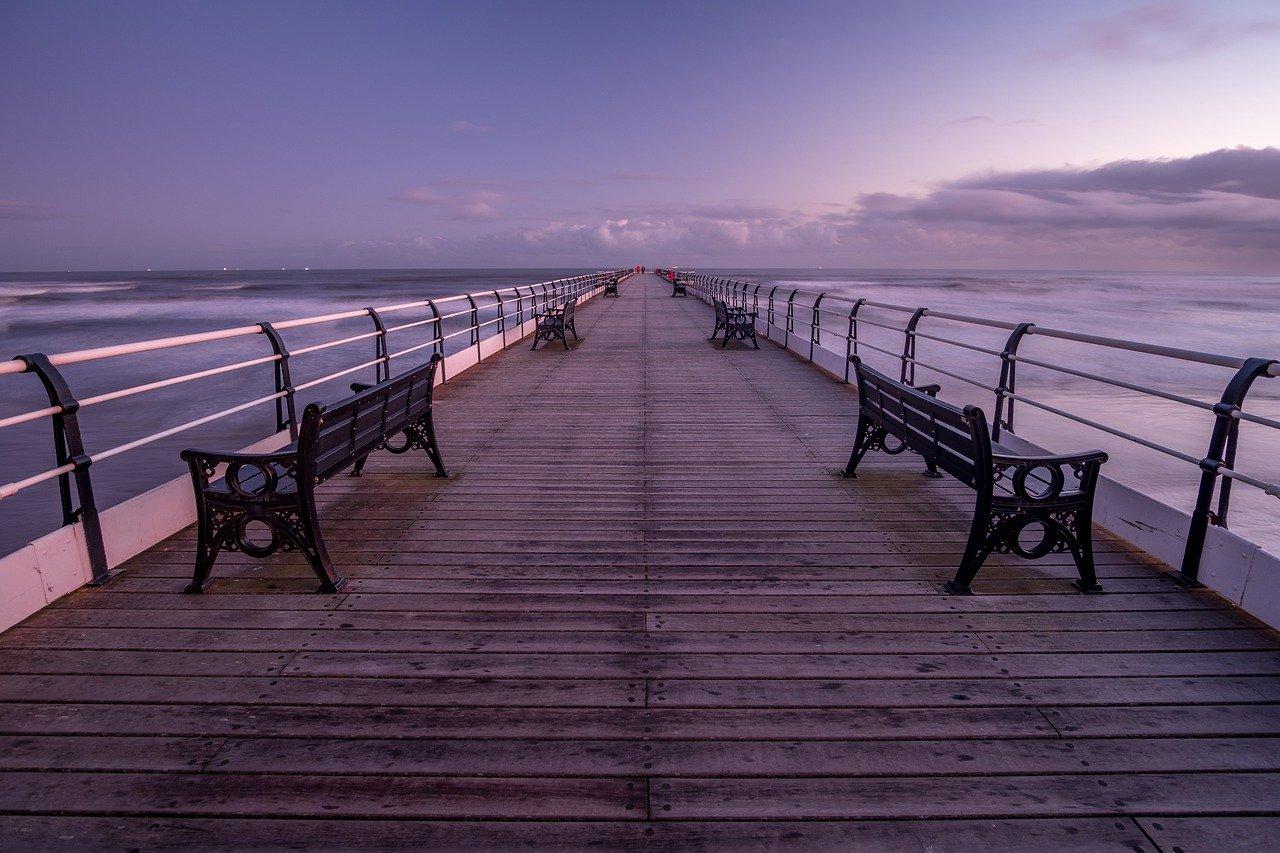 saltburn pier, pier, yorkshire
